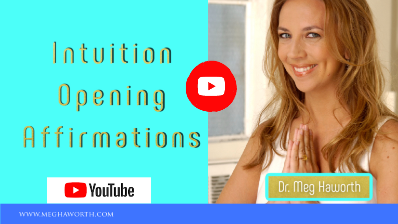 Affirmations For Opening Your Intuition